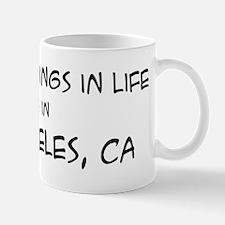 Best Things in Life: Los Ange Mug