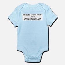 Best Things in Life: Long Bea Infant Creeper