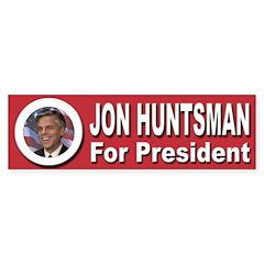 Jon Huntsman for President Sticker (Bumper 10 pk)