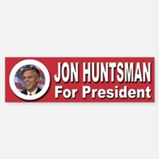Jon Huntsman for President Bumper Bumper Sticker