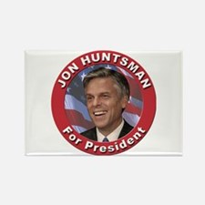 Jon Huntsman for President Rectangle Magnet