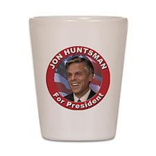 Jon Huntsman for President Shot Glass