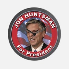 Jon Huntsman for President Wall Clock