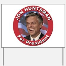 Jon Huntsman for President Yard Sign