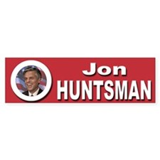 Jon Huntsman Bumper Sticker