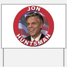 Jon Huntsman Yard Sign