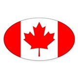 Canadian flag Stickers & Flair