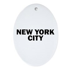 NEW YORK CITY V Ornament (Oval)