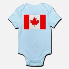 Canadian Flag Infant Bodysuit