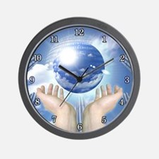 """<b>PLANETARY SERIES:</b> """"In Her Hands"""" Wall Clock"""