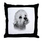 Dandie Dinmont Terrier Throw Pillow