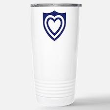 XXIV Corps Stainless Steel Travel Mug