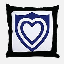 XXIV Corps Throw Pillow
