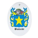 Bialecki Coat of Arms Oval Ornament