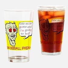 Baseball Freak Pint Glass