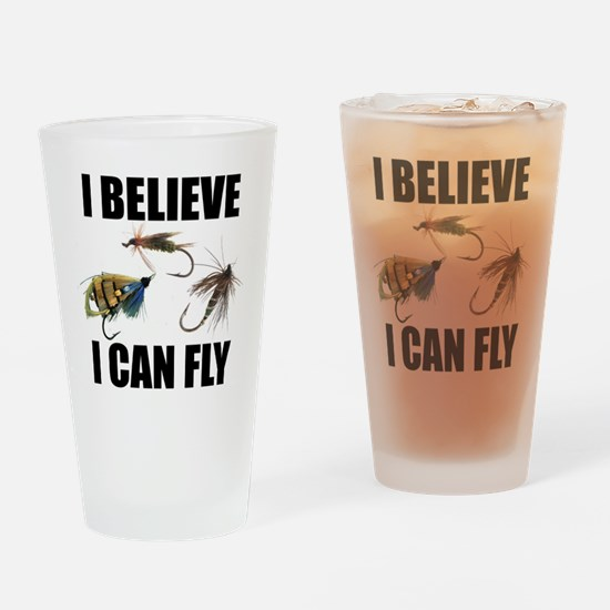 I Believe I Can Fly Drinking Glass
