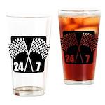 24/7 Racing Pint Glass