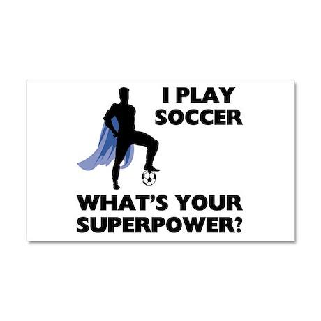 Soccer Superhero Car Magnet 12 x 20