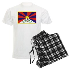 Tibetan Snow Lion Flag Pajamas