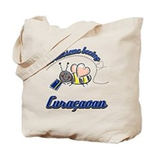 Awesome Being Curacaoan Tote Bag