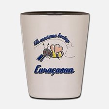Awesome Being Curacaoan Shot Glass
