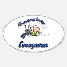 Awesome Being Curacaoan Decal
