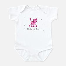 Ooh La La Pink Poodle Infant Creeper
