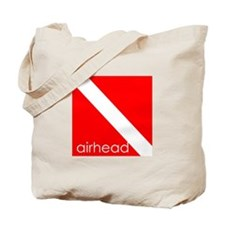 Aquaholics Scuba Dolphin Tote Bag