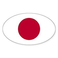 Japanese Sun Disc Flag Decal