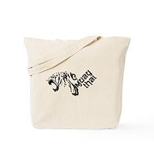 Muay Thai Tiger Tote Bag