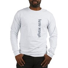 Krav Maga Destruction Long Sleeve T-Shirt