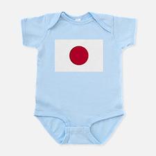 Japanese Sun Disc Flag Infant Bodysuit