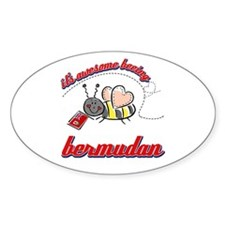 Awesome Being Bermudian Decal