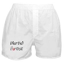 Martial Fartist Boxer Shorts