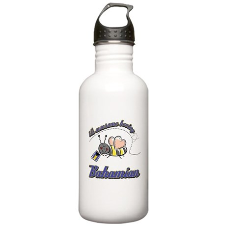 Awesome Being Bahamian Stainless Water Bottle 1.0L