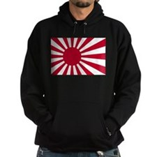 Japanese Rising Sun Flag Hoodie