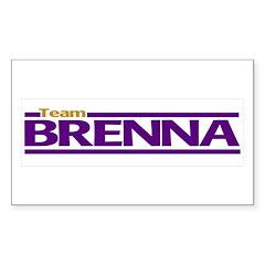 Team Brenna Decal