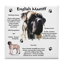 Mastiff 72 Tile Coaster