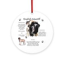 Mastiff 72 Ornament (Round)