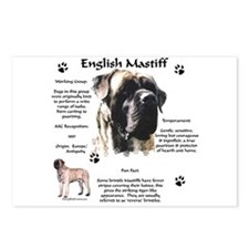 Mastiff 72 Postcards (Package of 8)