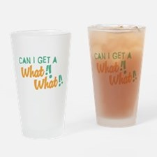 A What What Pint Glass