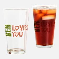Ben Loves You Pint Glass