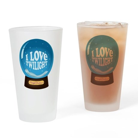Twilight Snow Globe Pint Glass