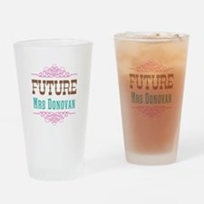 Pink Future Mrs Pint Glass