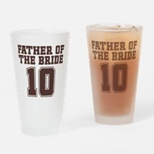 Uniform Bride Father 10 Pint Glass