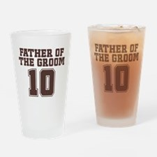 Uniform Groom Father 10 Pint Glass