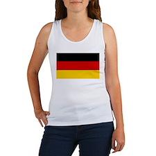 German National (Civil) Flag Women's Tank Top