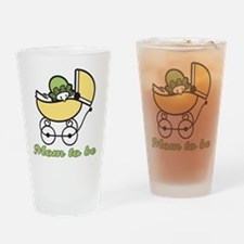 Retro Mom to Be Pint Glass