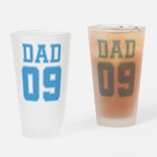 Blue Dad 09 Pint Glass