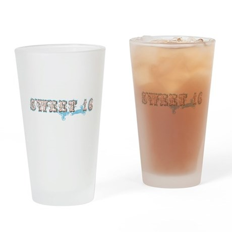 Vintage Sweet 16 Pint Glass
